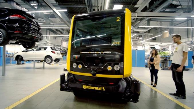 Arbeiten am Automatisierten Fahren bei Continental