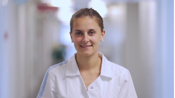 Diplomierte Pflegefachfrau in der Insel Gruppe