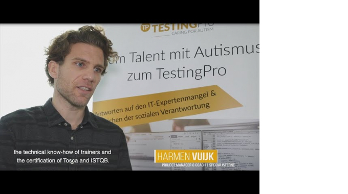 Nagarro and Specialisterne train people with Autism to become test-experts