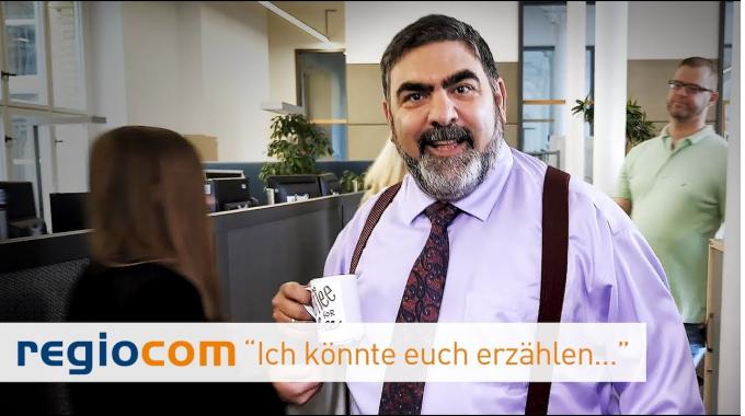 """regiocom """"Ich könnte euch erzählen..."""""""