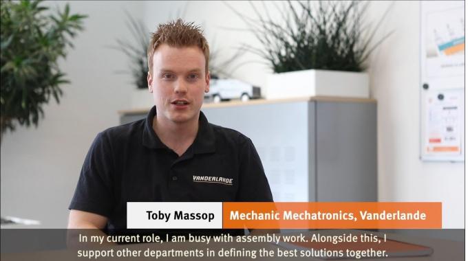 Berufsbeispiel: Mechatroniker: Toby
