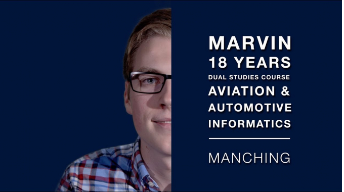 Meet Marvin | Disability is not a barrier to work at Airbus