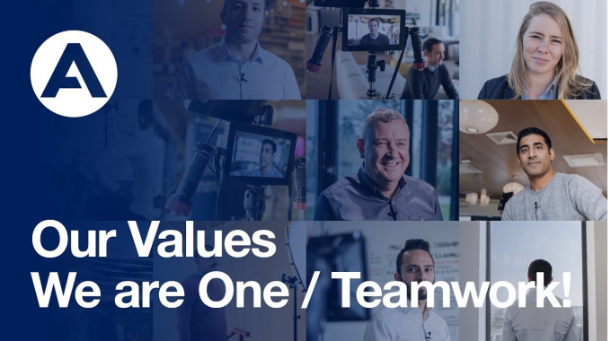 We Are One /Teamwork! | #AirbusValues