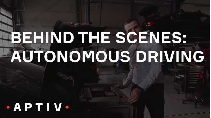 Behind the Scenes: Autonomous Driving at Aptiv