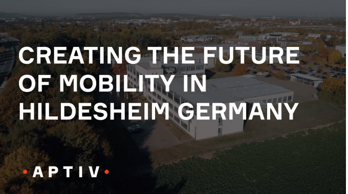 Creating the Future of Mobility in Hildesheim Germany (Aptiv)
