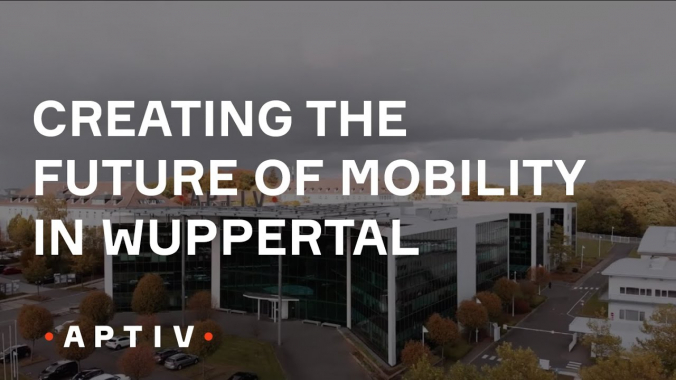 Creating the Future of Mobility in Wuppertal Germany (Aptiv)