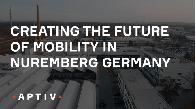 Creating the Future of Mobility in Nürnberg Germany (Aptiv)