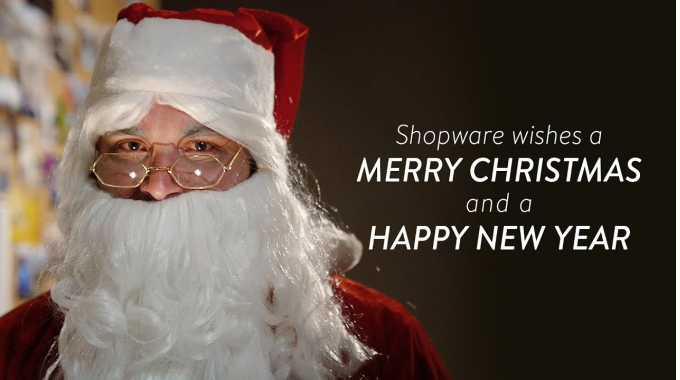Shopware wishes a Merry Christmas