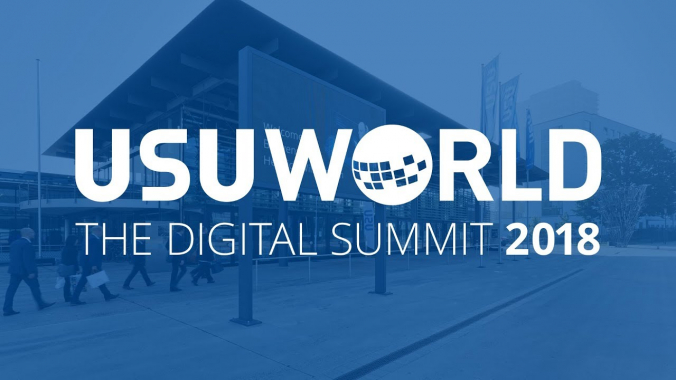 USU World 2018 - Get in touch with your digital future