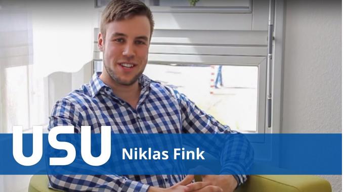 Niklas Fink - Werkstudent USU GmbH
