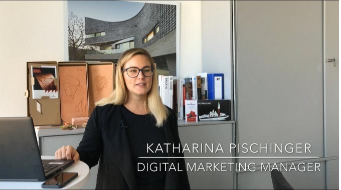 Wienerberger Career Story: Katharina gives Insights on Digital Marketing