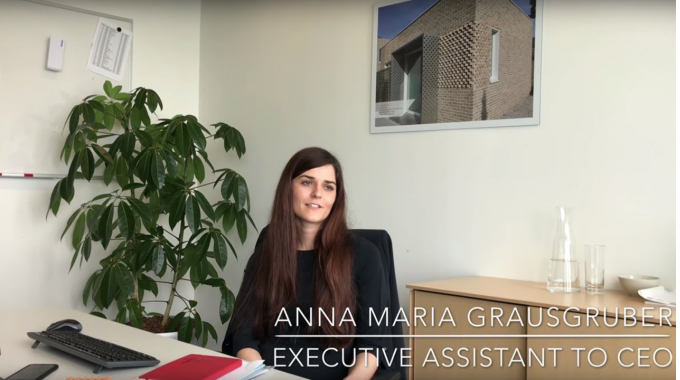 Wienerberger Career Story: Anna, Assistant to the CEO, on her start at Wienerberger