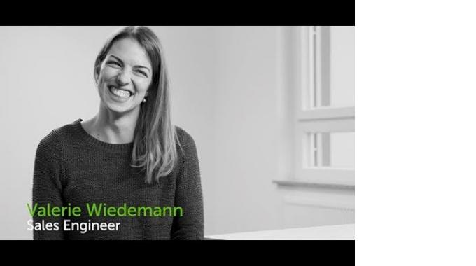 Meet Valerie Wiedemann - Sales Engineer