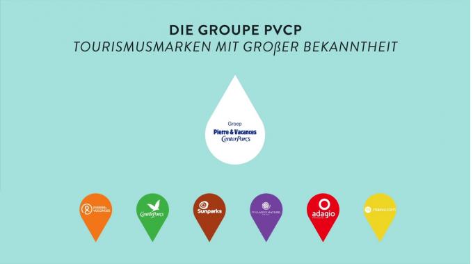 Entdecken Sie die Pierre & Vacances-Center Parcs Gruppe in 2 min 30