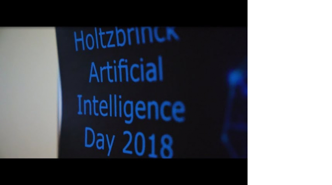 Holtzbrinck Artificial Intelligence Day 2018