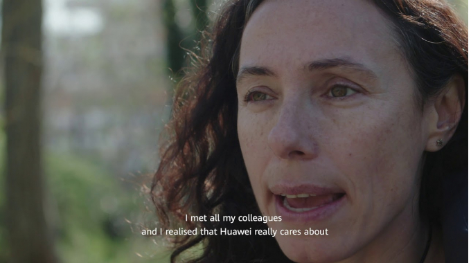 We are passionate, we are Huawei