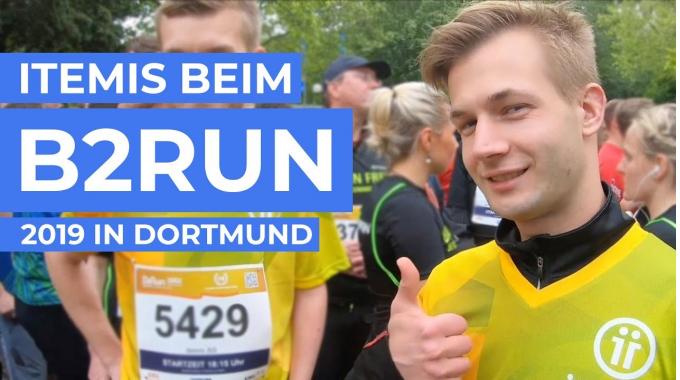 B2Run Firmenlauf 2019 in Dortmund – itemis war dabei!