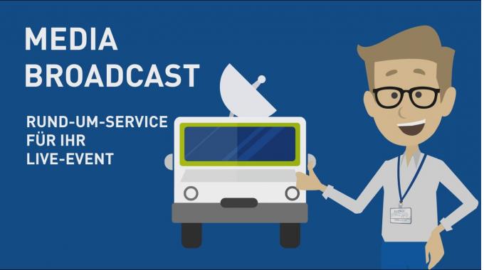 Event Broadcast Services - Events einfach und kostengünstig übertragen