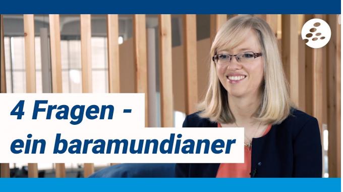 Vier Fragen ein baramundianer - mit Katharina, Corporate Brand Manager