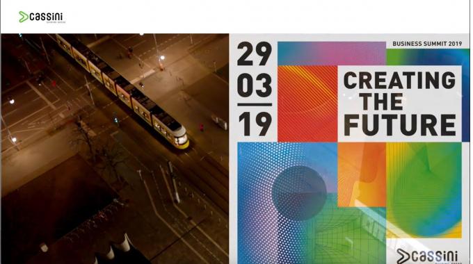 Cassini Creating the Future. Business Summit 2019 Berlin