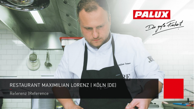 PALUX Referenz: Restaurant Maximilian Lorenz in Köln.