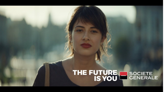 The Future is You - Societe Generale Advertising