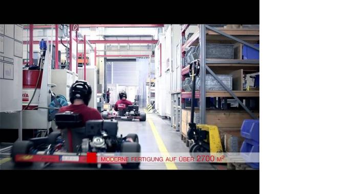 Zwick Ausbildungs-Projekt: Produktion von zwei Renn Gokarts