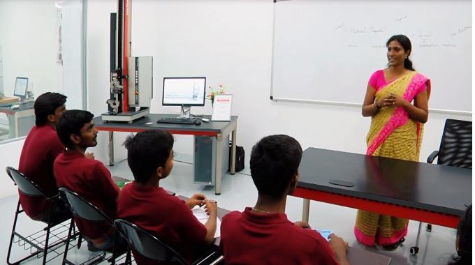 ZwickRoell Academy in Chennai, India