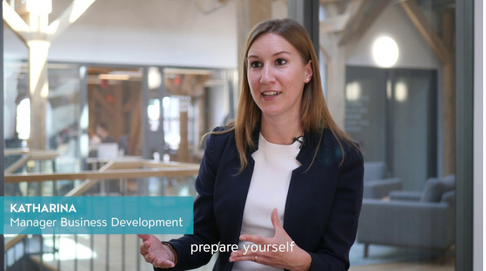 What is the job of a Business Development Manager about, Katharina?