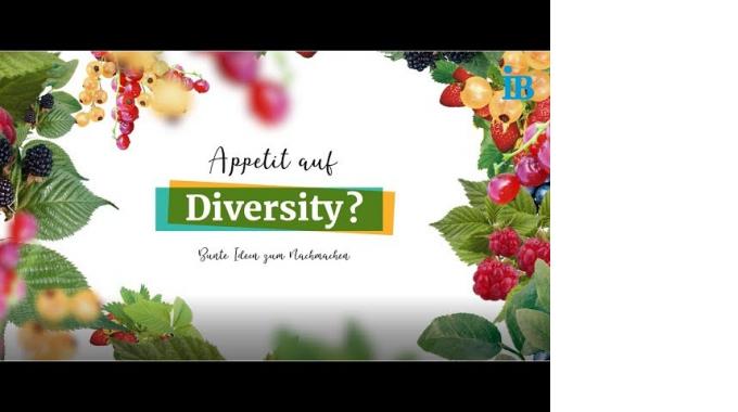 """3. Platz für den IB-Beitrag: Diversity Challenge der """"Charta der Vielfalt"""""""
