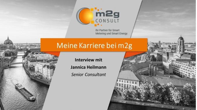 Deine Karriere bei m2g - Interview mit Jannica Heilmann