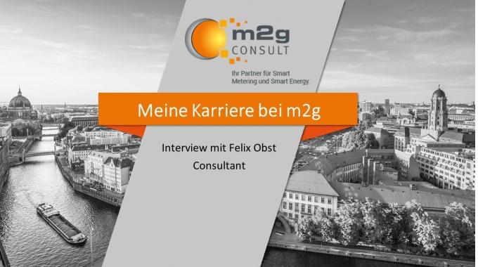 Deine Karriere bei m2g - Interview mit Felix Obst