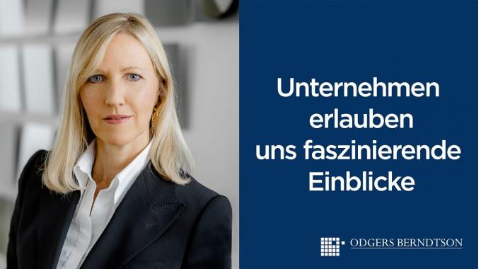 Gabriele Stahl: Unternehmen erlauben uns faszinierende Einblicke   Odgers Berndtson