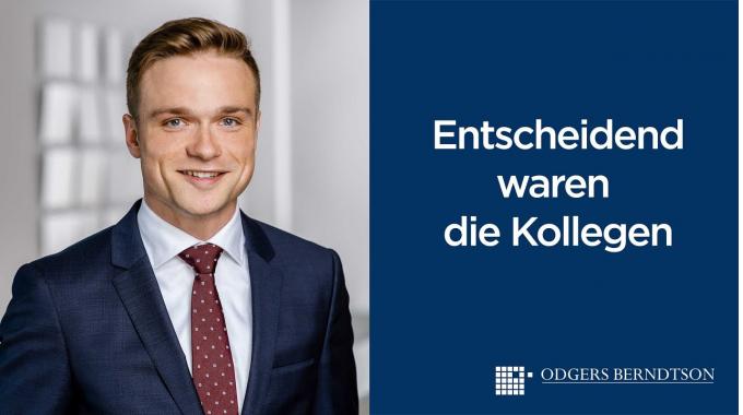 Max Meyer: Entscheidend waren die Kollegen   Odgers Berndtson