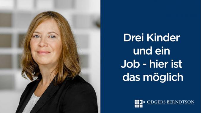 Stefanie Otto: Ich habe drei Kinder und kann das super vereinbaren   Odgers Berndtson
