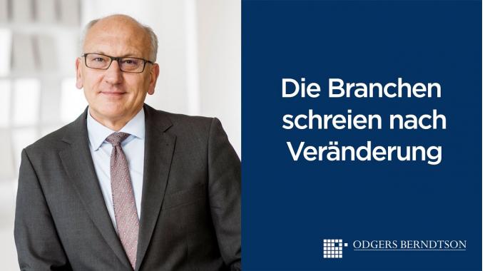 Michael Proft: Die Branchen schreien nach Veränderung   Odgers Berndtson