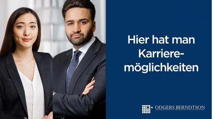Idris und Hana: Hier hat man Karriermöglichkeiten   Odgers Berndtson