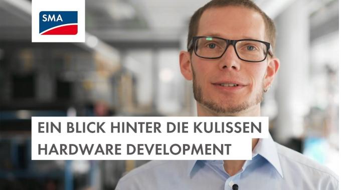 Ein Blick hinter die Kulissen – Hardware Development