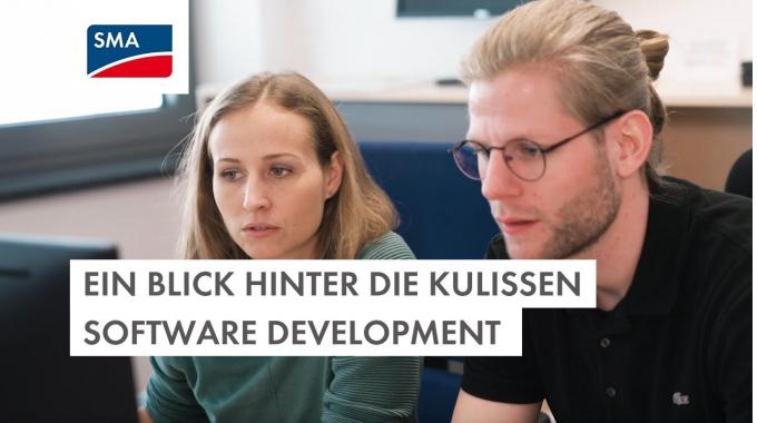 Ein Blick hinter die Kulissen – Software Development