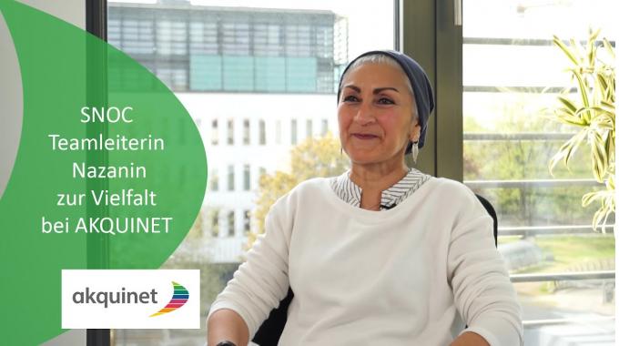 Unsere SNOC Teamleiterin Nazanin über Vielfalt bei AKQUINET
