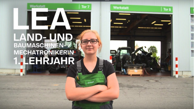 Ausbildung als Land- und Baumaschinenmechatroniker/in. Mach Deinen Weg! Starte bei der ...