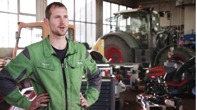 Menschen für Maschinen: Der optimale Service für den Landwirt
