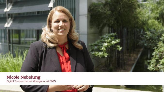 Was macht eine Digital Transformation Managerin bei ERGO?