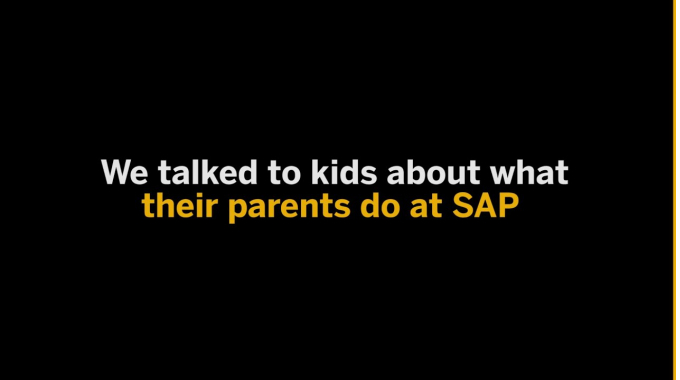A Kid's Perspective of SAP
