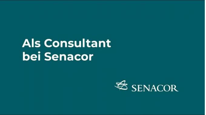 Als Consultant bei Senacor