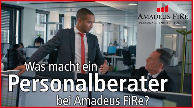 Was macht ein Personalberater bei Amadeus FiRe?