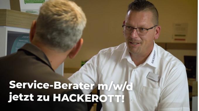 Service-Berater m/w/d für HACKEROTT in der Region Hannover