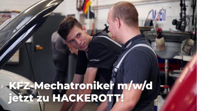 Kfz-Mechatroniker m/w/d für HACKEROTT in der Region Hannover