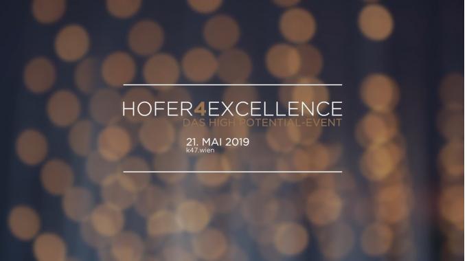 HOFER4Excellence 2019