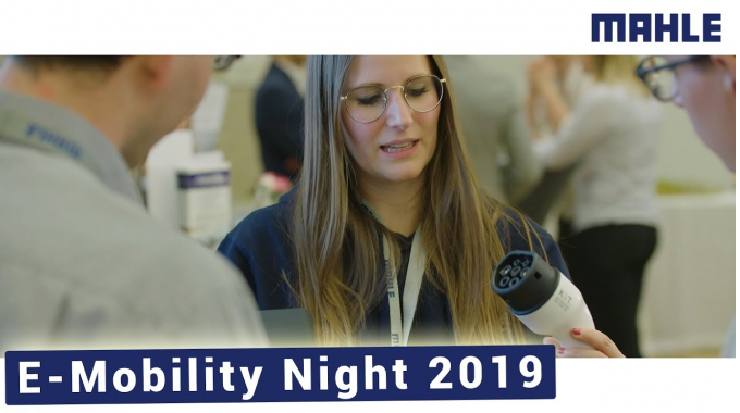 Electrifying the Future I MAHLE E-Mobility Night 2019